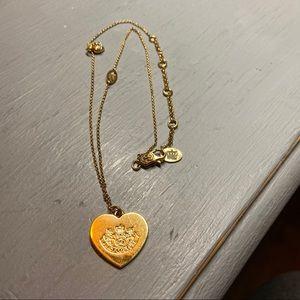 Juicy Couture Lighten Up Be Juicy Heart Necklace